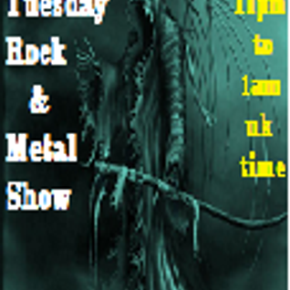 The Rock & Metal Show...11pm uk time Tuesday...16-02-16