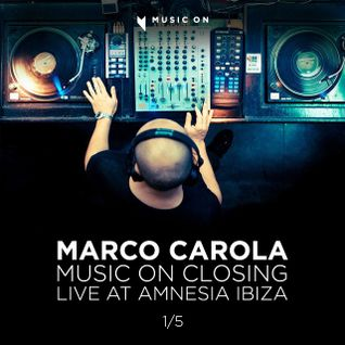 Marco Carola - Music On Closing - 28:09:12 Live at Amnesia Ibiza part 1/5