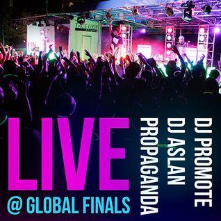 "DI Global Finals 2013 ""Glo Ball"" w/ DJ Promote, DJ Aslan and Propaganda - 05/23/13 Knoxville, TN"