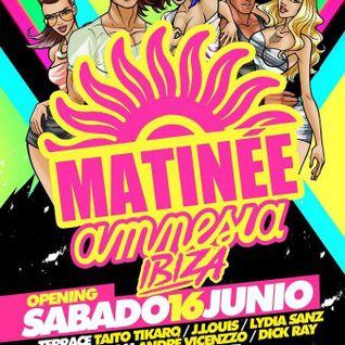 Lydia Sanz - Live @ Matinee Opening Party, Ibiza (16-06-2012)