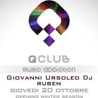 Inaugurazione Qclub Urbino 20.10.2011 Giovanni Ursoleo Dj