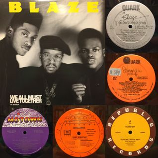 Blaze !!! Old School Garage mix !! '87-'90 !! Josh Milan Kevin Hedge Jomanda Quark Rec Movin' Rec