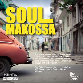 DJ Kemit Presents Soul Makossa April 2013 Promo Mix