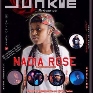 Music Junkie Presents - Nadia Rose (29/01/2015)