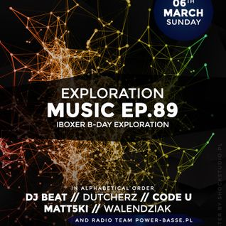 Deep House Lesson 10 mixed by DJ BEAT - Exploration Music EP.89 Iboxer B-Day