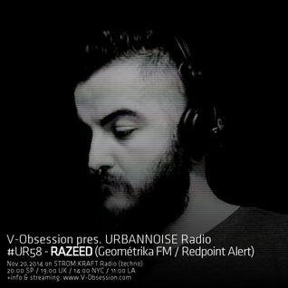 #UR58 // Razeed - URBANNOISE Radio 058 Pt1 (Nov.2014) on STROM:KRAFT Radio