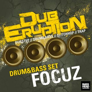 FOCUZ Drum & Bass Set - Dub Eruption 4