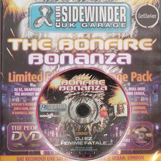 DJ EZ & MC's CKP, Viper & B Live - Sidewinder Bonfire Bonanza - 08/11/2003