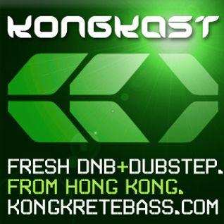 KongKast 121 - Tech Rolling mix - DJ FU
