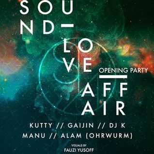 Alam @ Sound Love Affair (SLA) Opening Party, Pisco Bar - 10 Jan 2014
