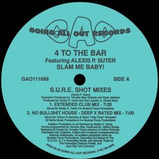 JJ's Smoking Sessions 121 FOUR 2 THE BAR - US Garage & House