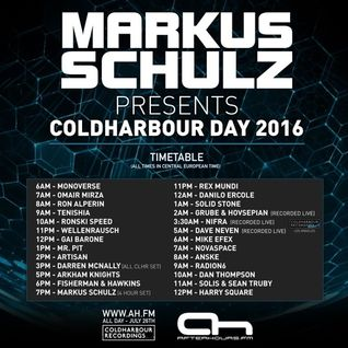 Tenishia @ Coldharbour Day 2016 [FREE DOWNLOAD]