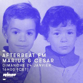 Afterbeat FM : Marius & César - 24 janvier 2016
