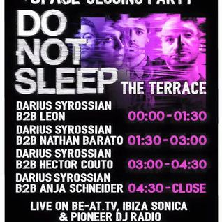 Darius Syrossian B2B Leon - live at Do Not Sleep 2016 Closing Party (Sundays at Space, Ibiza) - 25