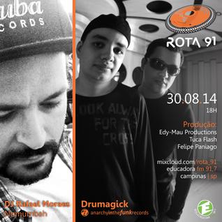 Rota 91 - 30/08/14 - Educadora FM 91,7