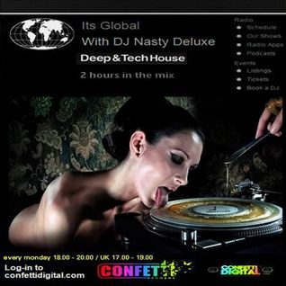 Dj Nasty deluxe - It's global - Confetti Digital - UK - London - 02. 06. 2015