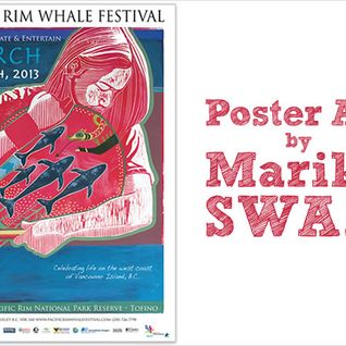 Marika Swan Discusses Some Pacific Rim Whale Festival Event on Long Beach Radio - March 15, 2013
