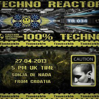Techno Reactor Podcast ( fnoob.radio )( Sonja De Nada ) ( Croatia ) ( Dubrovnik )