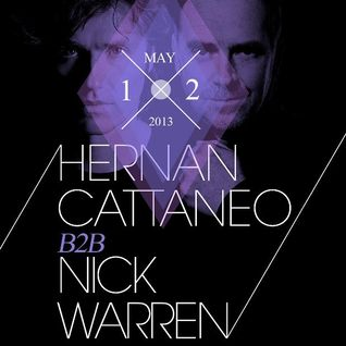 Hernan Cattaneo & Nick Warren - B2B at Harlot, San Francisco (12-05-2013)