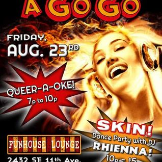 Dj rhienna | SKIN @ the funhouse | august 2013 | hip-hop mix 1