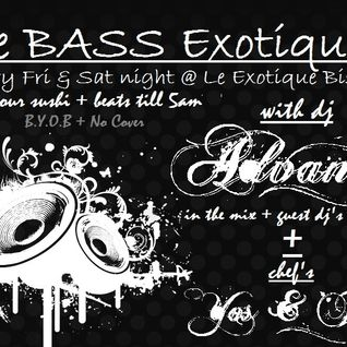 LIVE @ BASS Exotique! (3.3.12)part1