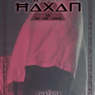 Häxan VIII [Live - Opening Set - February 2013]
