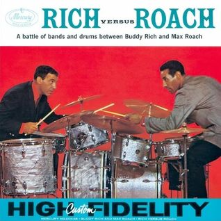 Biscuit Time with BUDDY RICH vs MAX ROACH on Soundart Radio 102.5FM 14/12/2013