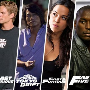 Fast & Furious themed show on 'The Fergalicious Hour'