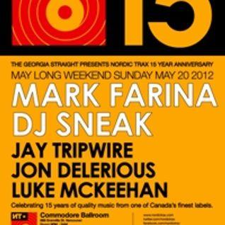 Nordic Trax 15 Year Anniversary - Part 1 - Luke McKeehan, Jay Tripwire & Jon Delerious Live 5.20.12