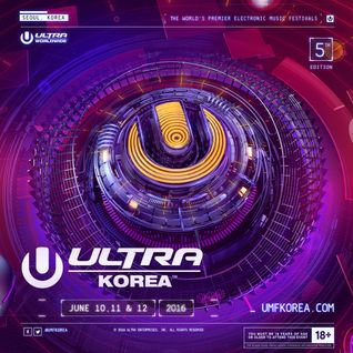 Armin van Buuren - Live @ Ultra Korea 2016 (Seoul, South Korea) - 12.06.2016