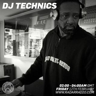 DJ Technics - Radar Radio 2-12-2016