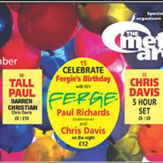 Fergie & Marco V Live On Radio 1 @ The Met Armagh (Fergie's Birthday)15.11.2002