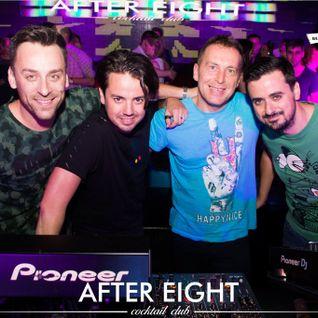 Partydul KissFM ed393 vineri - ON TOUR After Eight Cocktail Club Cluj-Napoca cu Dj Jonnessey si Aner