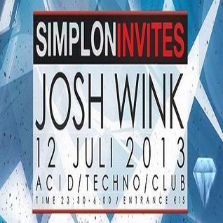 Josh Wink - Live at Simplon (Groningen) Part2 - 12-Jul-2013