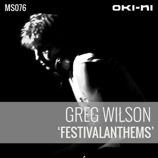 FESTIVALANTHEMS by Greg Wilson