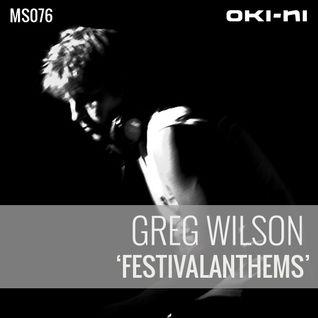 FESTIVALANTHEMS by Greg Wilson