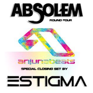 Estigma (Anjunabeats Special) @ Absolem Round 4 18/09/2015