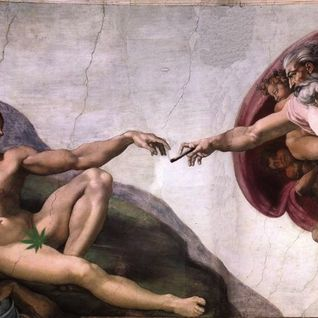 god passing a joint to adam  ( 92-100 BPM )