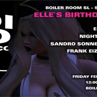 Frank Eizenhart Live @ Boiler Room SL - Elle's Birthday Bash - Feb 19th (Part 2-Techno Set)