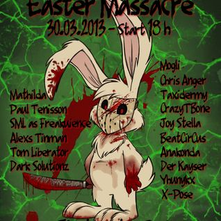 CrazyTBone at Easter Massacre on Electrocution Radio
