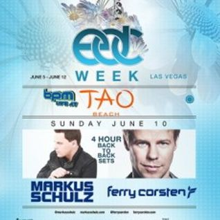 Markus Schulz b2b Ferry Corsten - Live @ Tao Beach (Las Vegas) - 10.06.2012