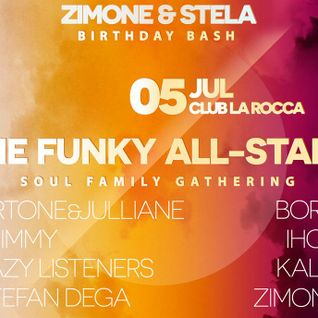 Ihou, BorG, Kalin Todorov, Zimone  - The Funky All-Stars - Part 3 - live @ La Rocca 05.07.2014