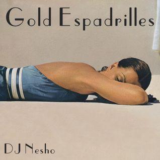 Gold Espadrilles
