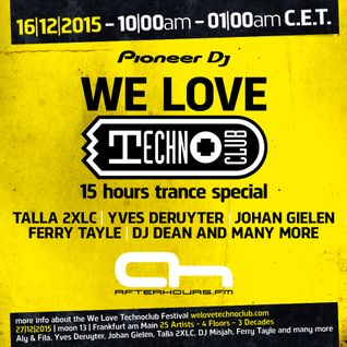 Gary D @ AH.FM - We Love Techno Club Day - 16.12.2015