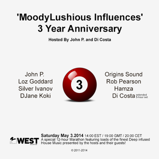 MoodyLushious Influences Episode 37 (3-Year Anniversary Edition) (Excl. Guest Mix By Loz Goddard)