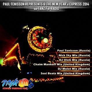 Paul Tenisson Represents & The New Year's Express 2014 on Tanz.Fm Radio (Sexi Beatz Mix)
