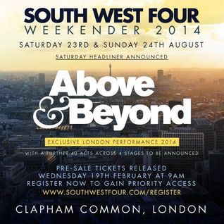 Above & Beyond - Live @ South West Four London (United Kingdom) - 23.08.2014