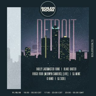 Farley Jackmaster Funk - live at Boiler Room Chicago vs Detroit - 15-Nov-2015