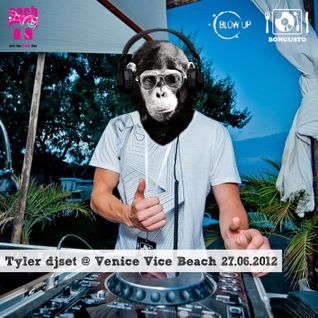 Tyler Douglas djset @ Venice Vice Beach 27.06.2012 c/o B.Each (VE)