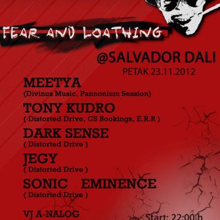 tony kudro warm up mix for fear and loathing 23.11.12